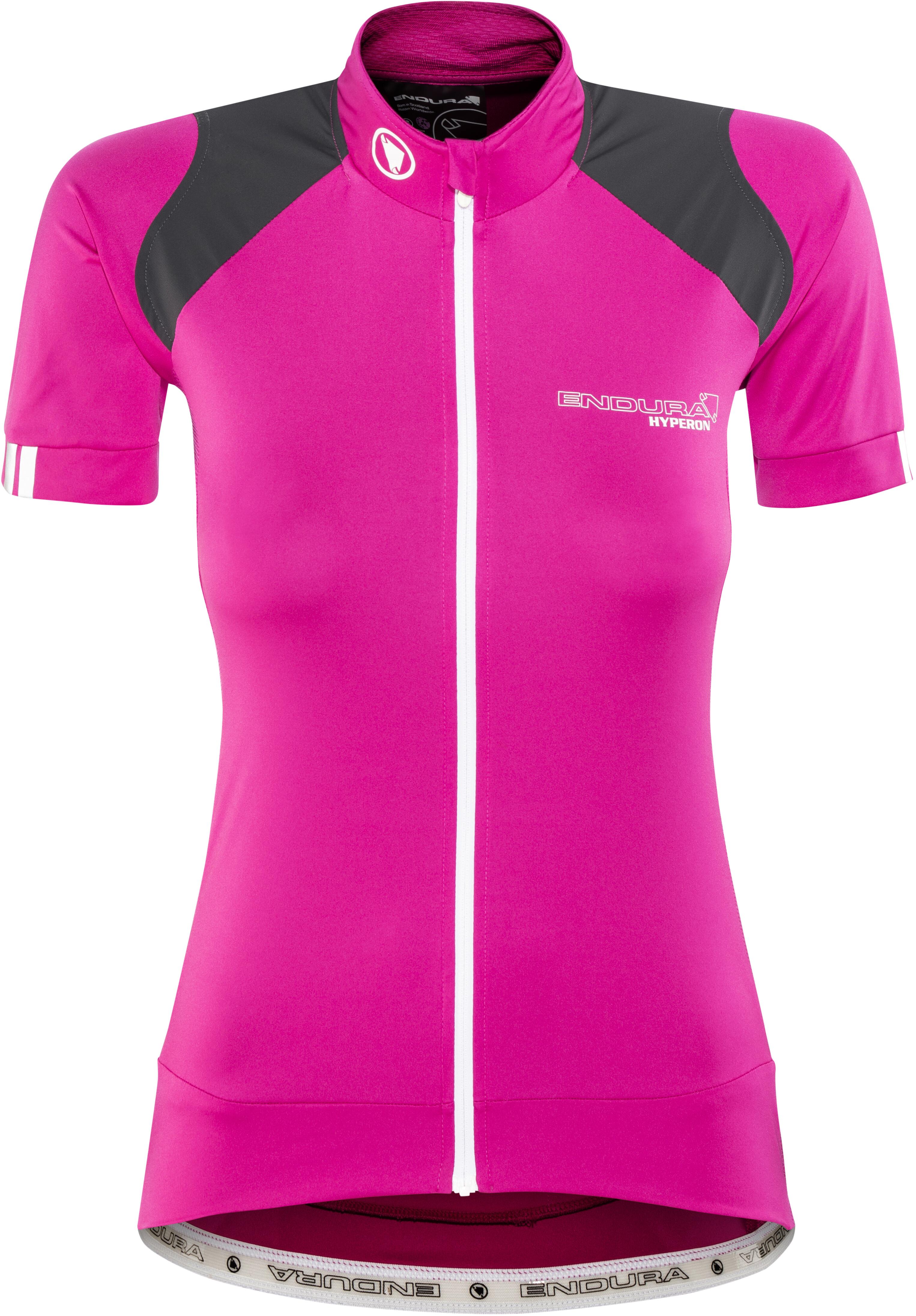 Endura Hyperon Bike Jersey Shortsleeve Women pink black at Bikester ... 931c049e5